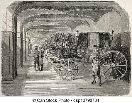 Drawings of Carriage house.