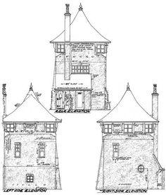 Architectural Designs ~ Romantic Carriage House Plans.