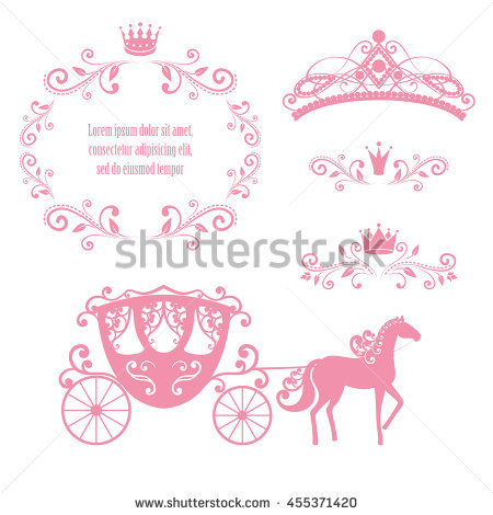 Cinderella Carriage Stock Images, Royalty.