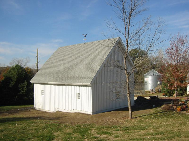 Gambrel Roof Carriage House Plans.