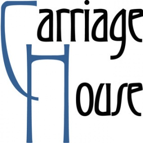 Carriage House Logo Clipart Design.