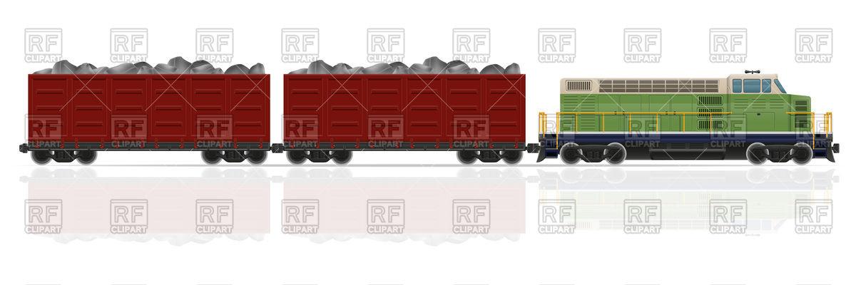 Cargo train.