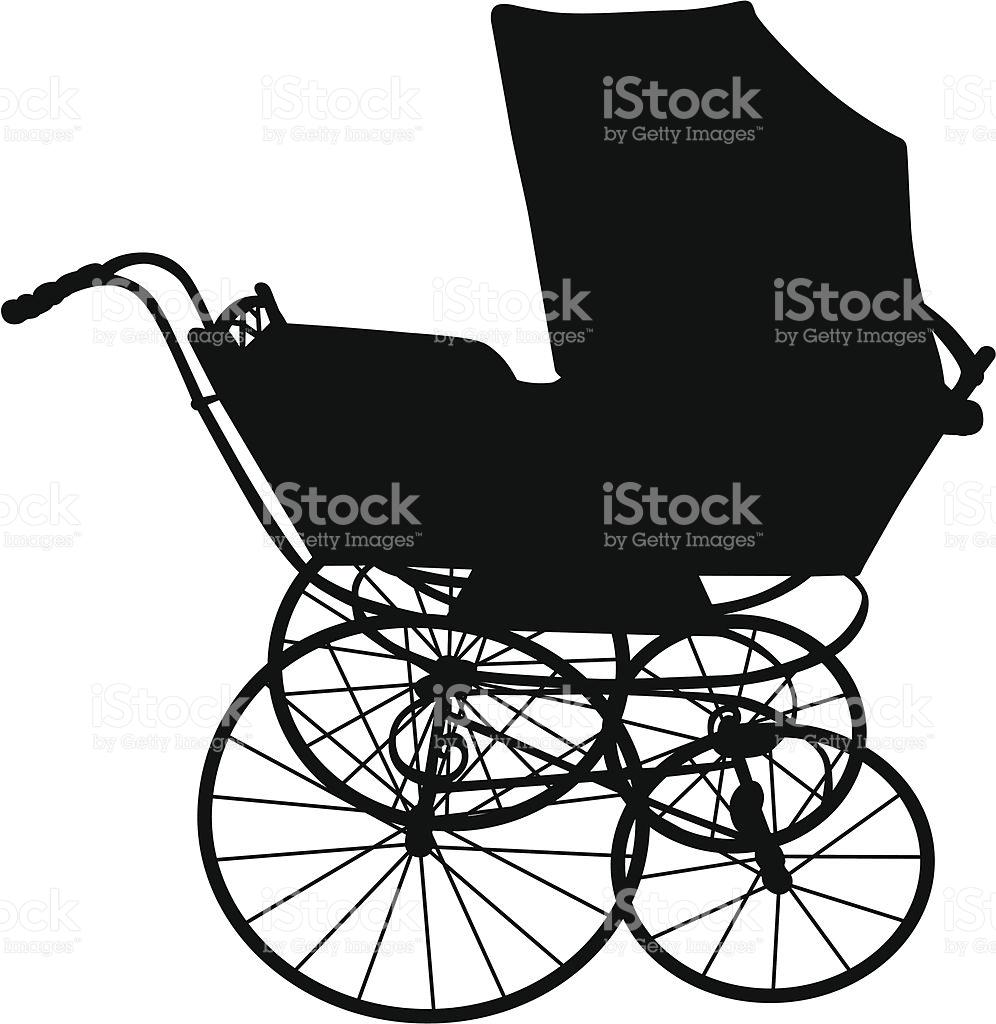 Baby Carriage stock vector art 153146166.