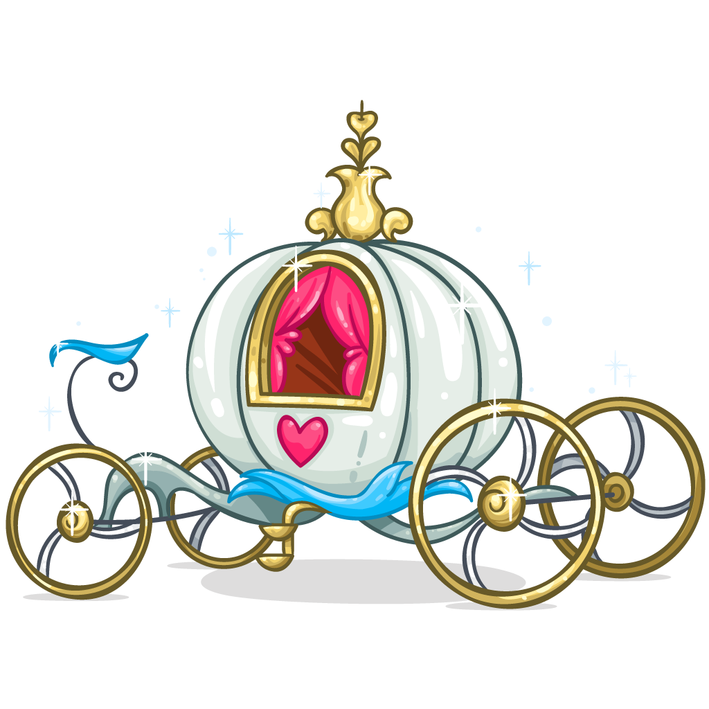 Download Cinderella Carriage PNG.