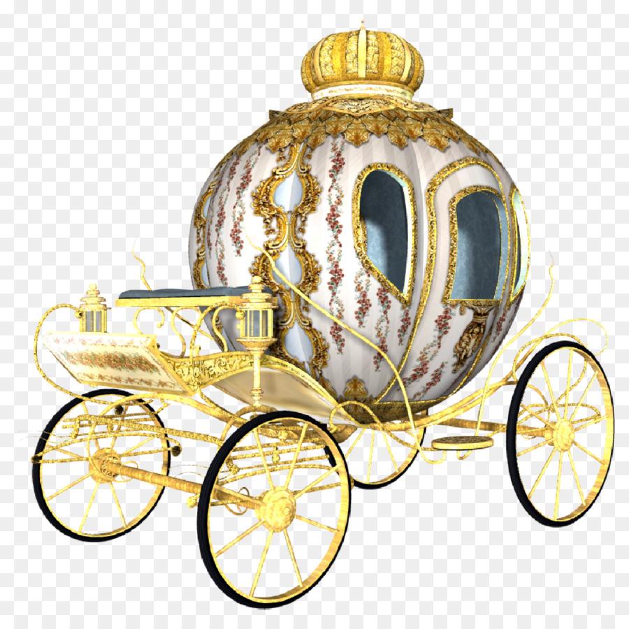 Carriage Cinderella Disney Princess Drawing.