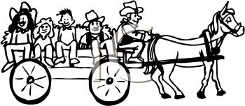 Wagon cliparts.