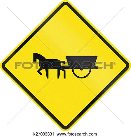 Clipart of Carriages Use Road In Chile k27003331.