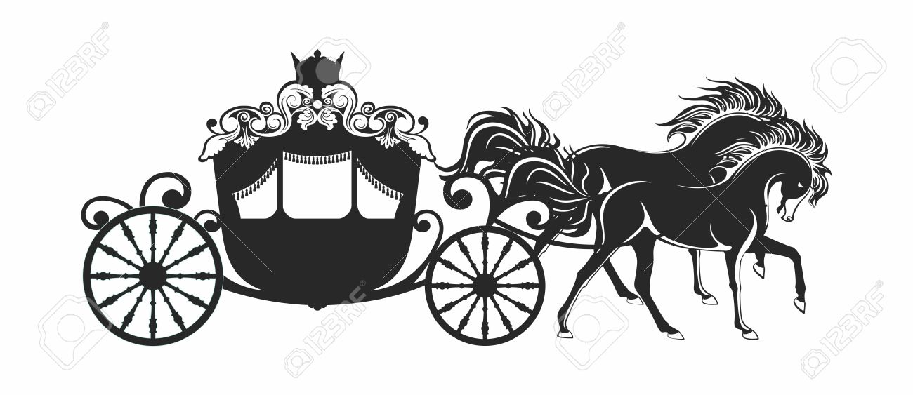 This Collection Is  plete With Grand also Carriage moreover Old White Baby Carriage further Discovery St  It Latest St in addition Stock Illustration Vintage Silhouette Of A Horse. on vector horse drawn carriage silhouettes