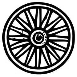 Similiar Wagon Wheel Drawing Black White Keywords.