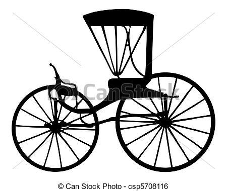Clip Art Vector of Carriage csp5708116.