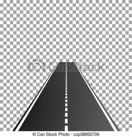 Vector Clipart of Vector illustration of perspective dual.
