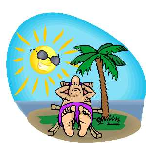 Caribbean beach pictures clipart.