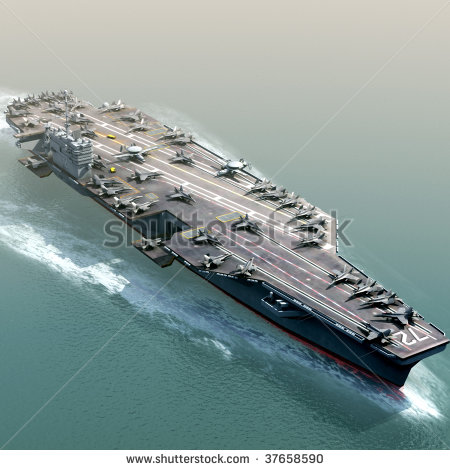 Aircraft Carrier Stock Photos, Royalty.