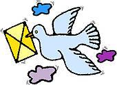 Homing Pigeon Clip Art.