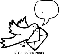 Carrier pigeon Vector Clipart EPS Images. 162 Carrier pigeon clip.