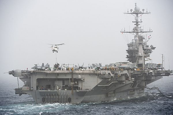 Navy Announces Harry S. Truman Carrier Strike Group Will Remain On.