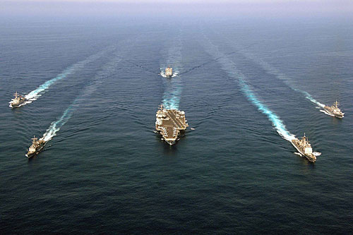 CARRIER STRIKE GROUP.