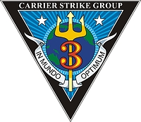 U.S. Navy Carrier Strike Group Two (CSG 2), emblem.