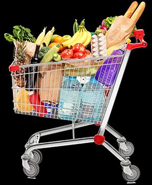 Carrinho de compras de supermercado png 1 » PNG Image.