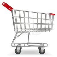 Carrinho DE Supermercado DE Vetor imagens vetoriais.