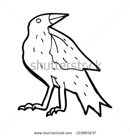 Carrion Crow Stock Vectors & Vector Clip Art.