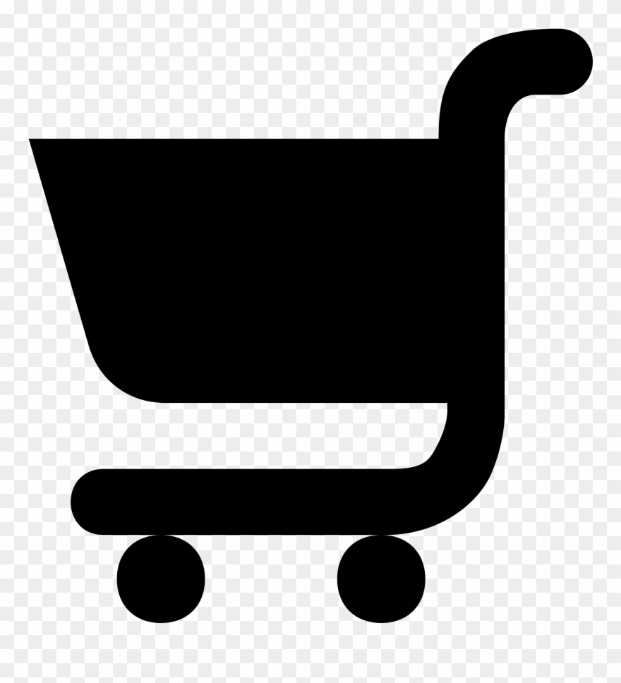Silhouette Shopping Cart Supermarket Drawing Grocery.