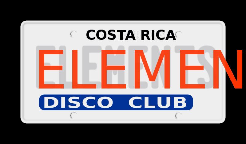 Free Clipart: Placa de carro elements.