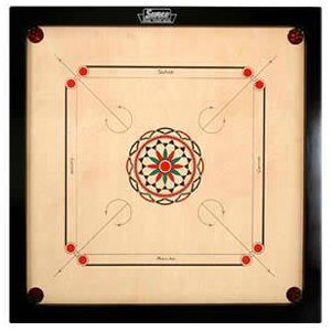 Carrom Game Clipart.