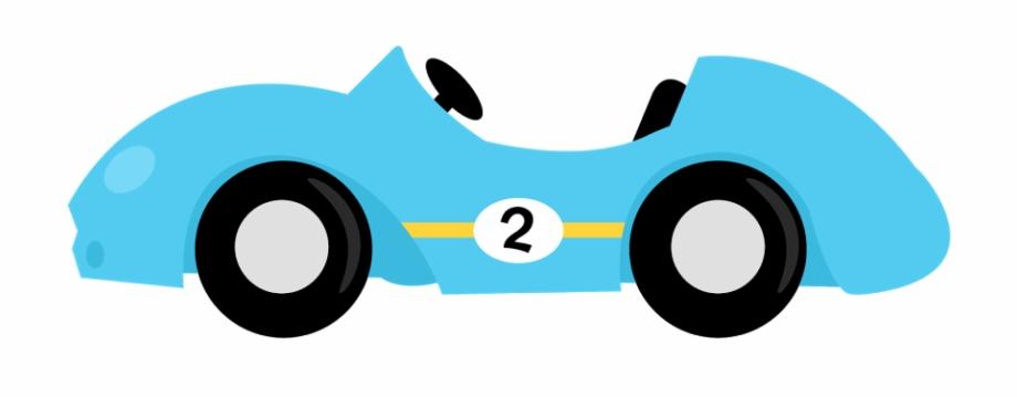 Carro De Carreras Animado.