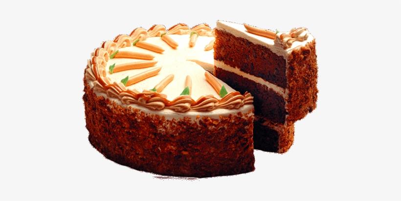 Download Free png Carrot Cake Png Cake Transparent PNG 500x400 Free.
