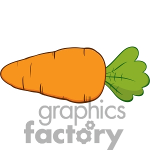 Carrot Clipart Page 1.