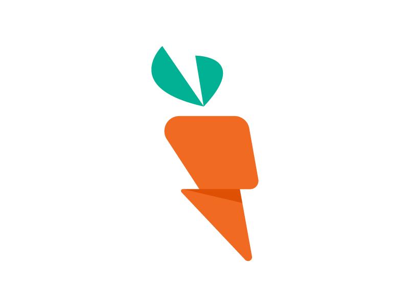 Carrot Logo by Brian Nutt on Dribbble.