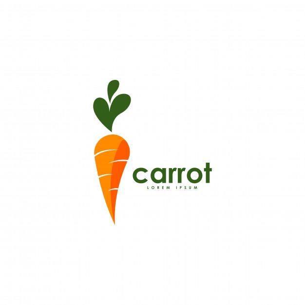 Carrot logo Vector.
