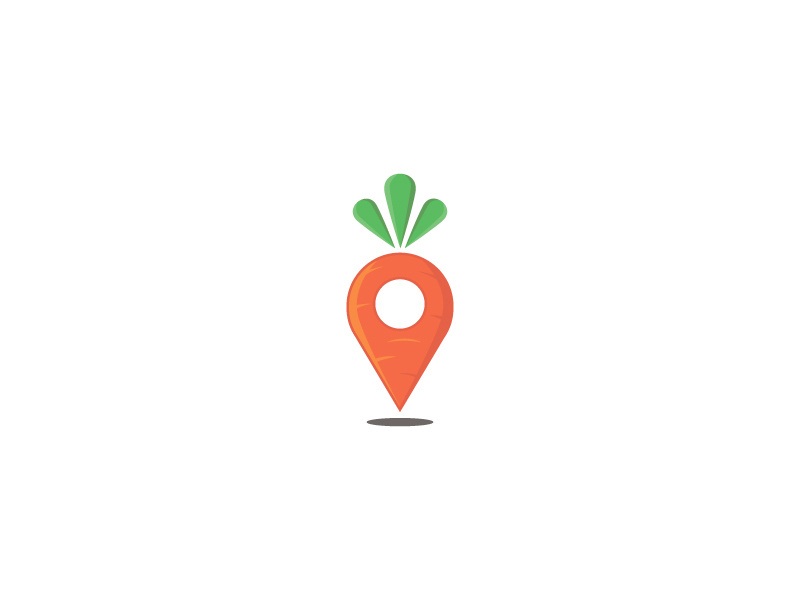 Carrot Point Logo by Kanades on Dribbble.