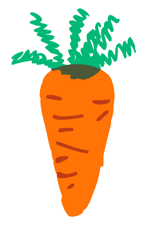 Free Clipart: Carrot.