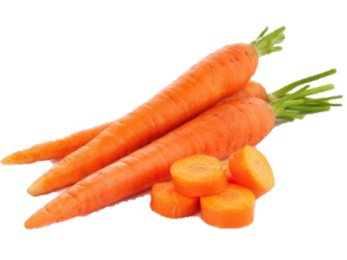 Carrot Cutting Pieces PNG.