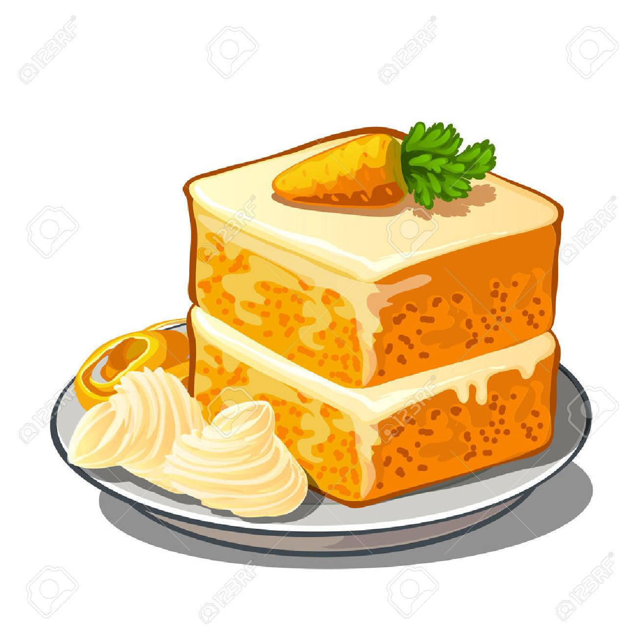 Carrot cake clipart 1 » Clipart Station.
