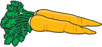 Carrots Clipart Free.