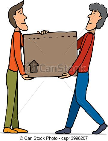 Carry Box Clipart.