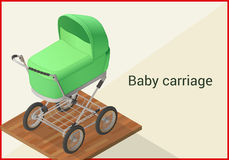 Carrycot Stock Illustrations.