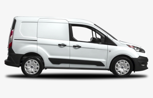 Free White Van Clip Art with No Background.