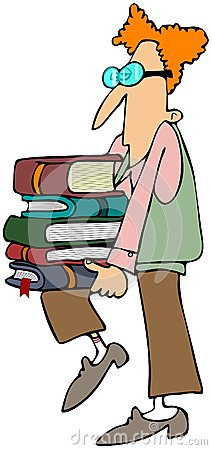 Showing post & media for Cartoon students carrying books.