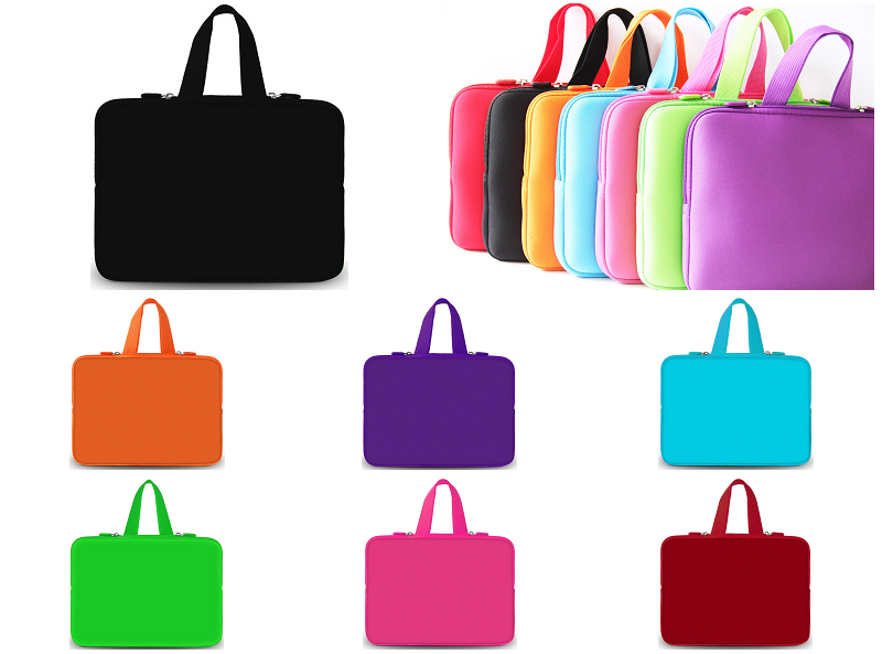 "7"" 8"" Inch Tablet Sleeve Case Cover Carry Handle Bag For."