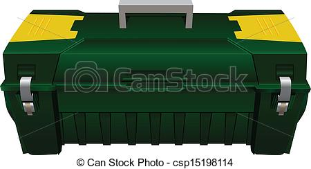 Vector Clip Art of Toolbox.