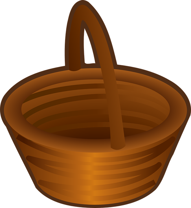 Free vector graphic: Basket, Brown, Empty, Carry, Handle.