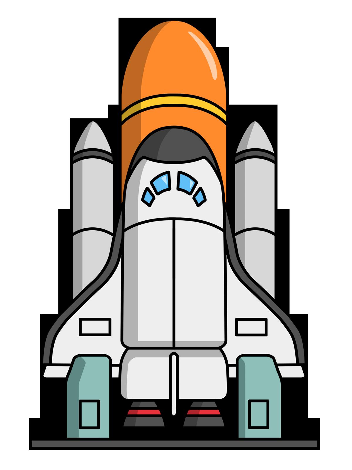 Space shuttle desktop clipart.