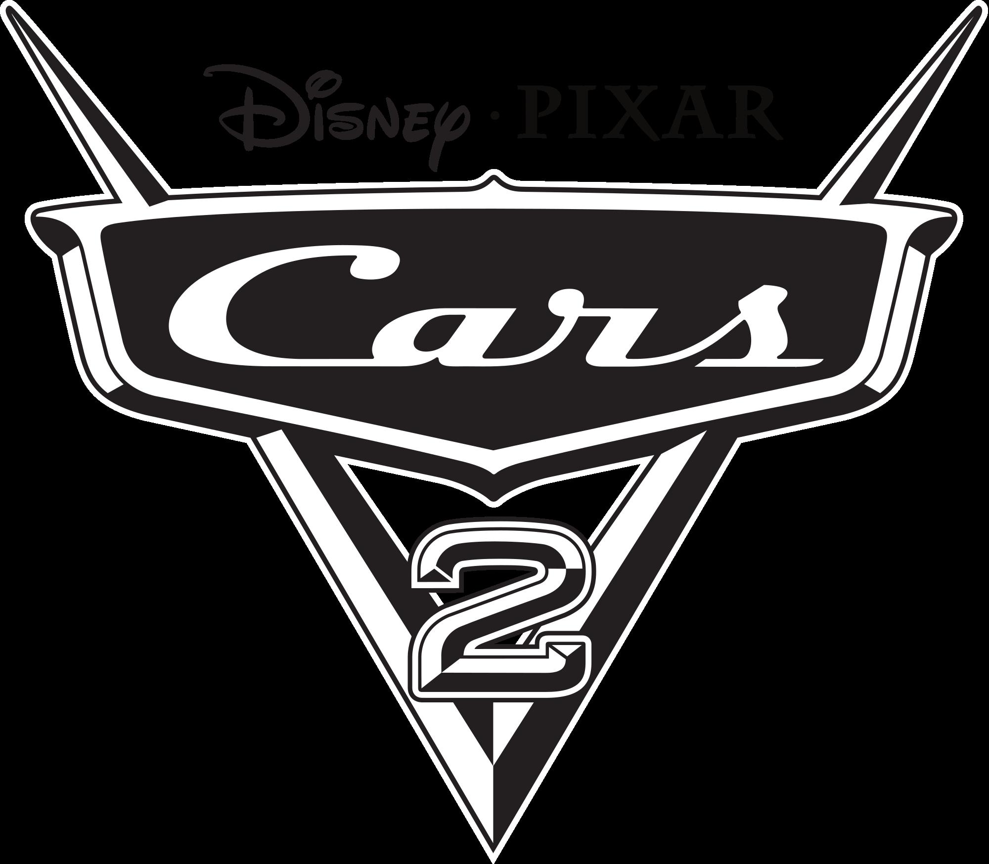 Cars 2 logo png 1 » PNG Image.