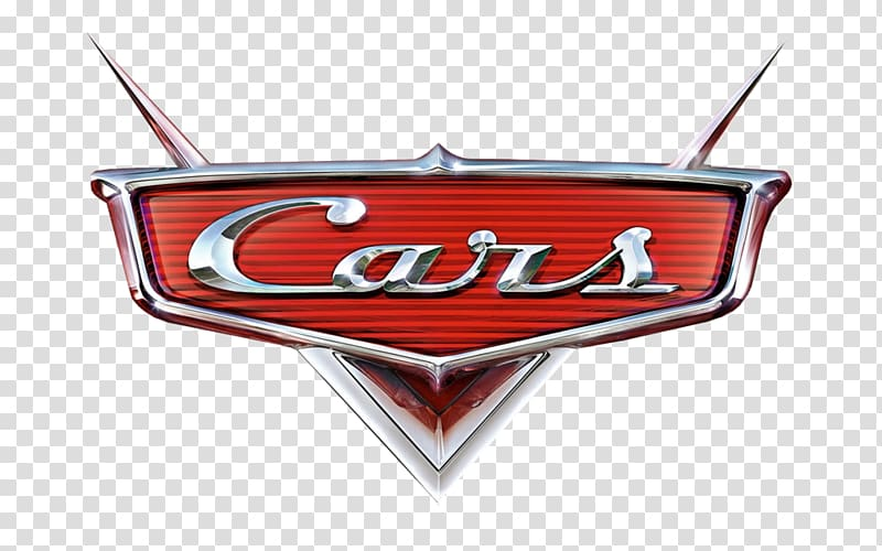 Cars movie logo, Lightning McQueen Mater Cars Land Cars 2, cars logo.