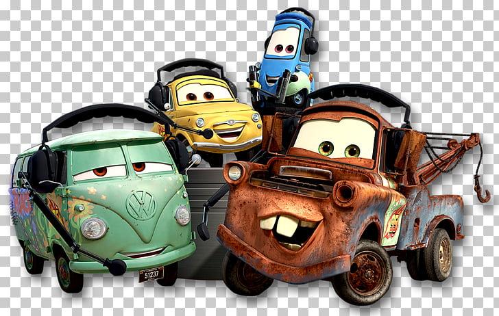 Cars 2 Pixar Desktop , Cars 3, Tow Mater and Luigi of Cars.