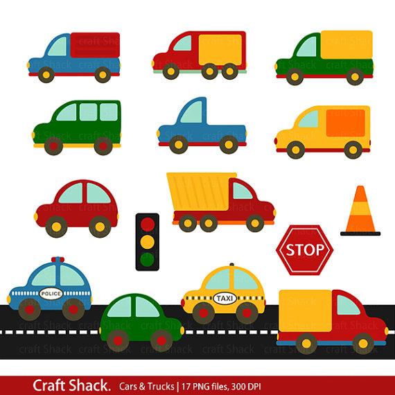 Clipart cars and trucks » Clipart Station.